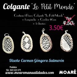 """Kit Colgante """"Le Petit Monde"""""""
