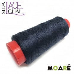 Seda LACE CHAL AZUL OSCURO 1000M