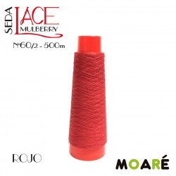 Seda LACE Mulberry ROJO