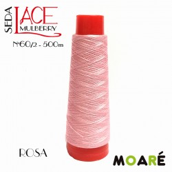 Seda LACE Mulberry ROSA