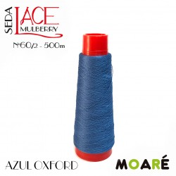 Seda LACE Mulberry AZUL OXFORD