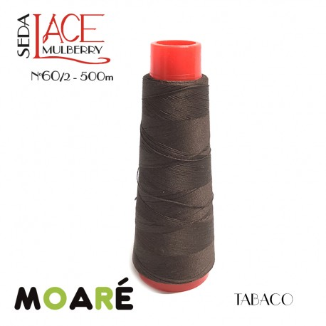 Seda LACE Mulberry Nm 60/2 TABACO