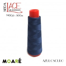 Seda LACE Mulberry Nm 60/2 AZUL OSCURO