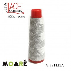 Seda LACE Mulberry Nm 60/2 GRIS PERLA