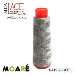 Seda LACE Mulberry Nm 60/2 GRIS GRAFITO