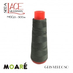 Seda LACE Mulberry Nm 60/2 GRIS VERDOSO