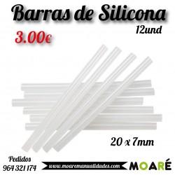 Barras de silicona 12 und