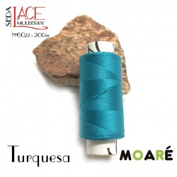Seda Mulberry Nm 60/2 TURQUESA 200m