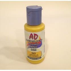 043 Amarillo de Cadmio Pintura acrilica AD