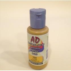 104 Ocre Amarillo Pintura acrilica AD