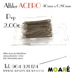 Alfiler Acero 37mm
