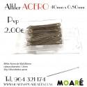 Alfiler Acero 40X0.8mm