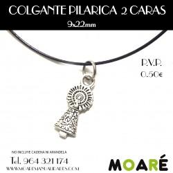 COLGANTE PILARICA 2 CARAS