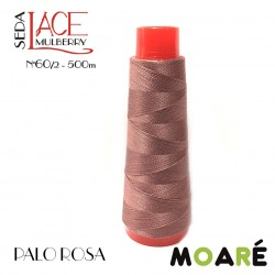 Seda LACE Mulberry Nm 60/2 PALO ROSA