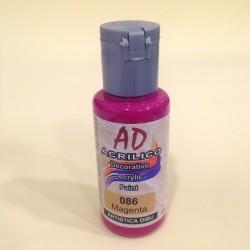 086 Magenta Pintura acrilica AD