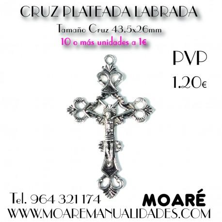 CRUZ PLATEADA LABRADA