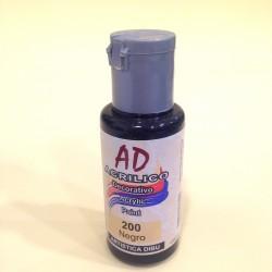 200 Negro Pintura acrilica AD