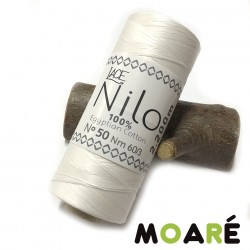 ALGODON EGIPCIO LACE NILO BLANCO N50