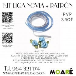 KIT LIGA DE NOVIA azul