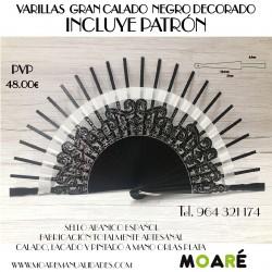 Varillas GRAN CALADO 14.5X6.5CM