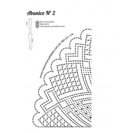 Varillas CALADO BLANCO DECORADO PLATA 9.5+13.5