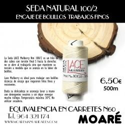 Seda Mulberry Nm 100/2 CRUDO