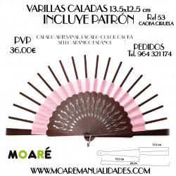 VARILLAS CALADAS 13.5x12.5 cm