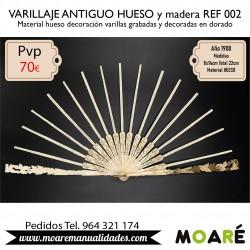 VARILLAJE ANTIGUO HUESO REF002