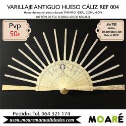 VARILLAJE ANTIGUO HUESO CALIZ REF004