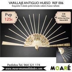 VARILLAJE ANTIGUO HUESO REF006