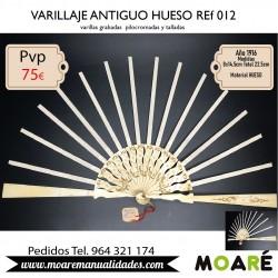 VARILLAJE ANTIGUO HUESO REF012
