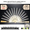 VARILLAJE ANTIGUO HUESO REF013