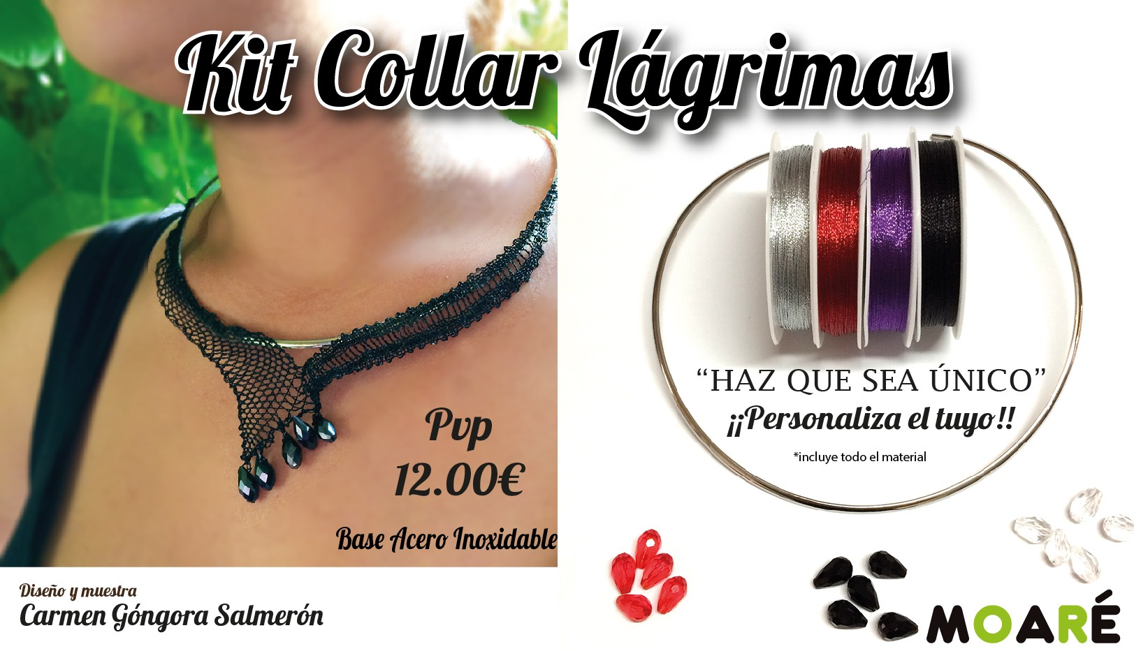 Kit Collar Lágrimas