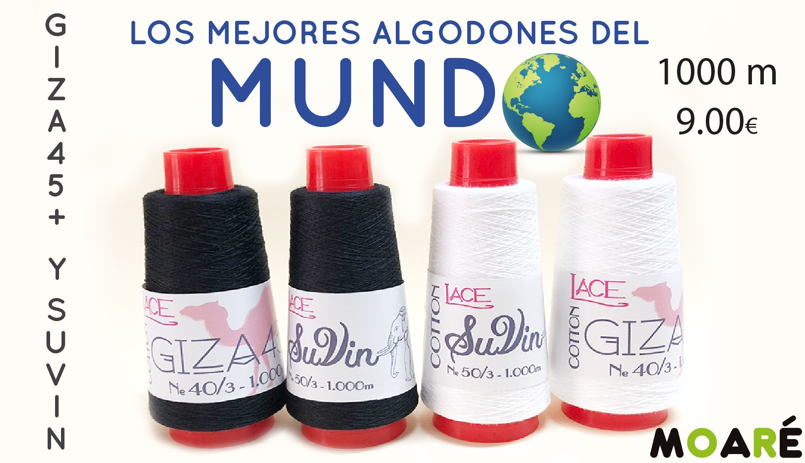 aLGODON GIZA Y SUVIN
