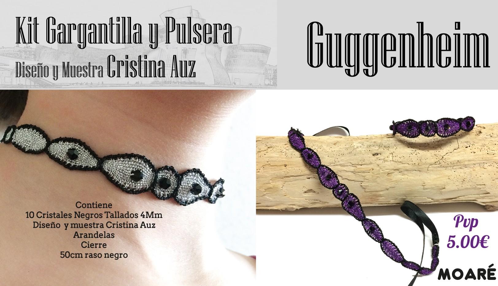 Kit Pulsera y Gargantilla GUGGENHEIM