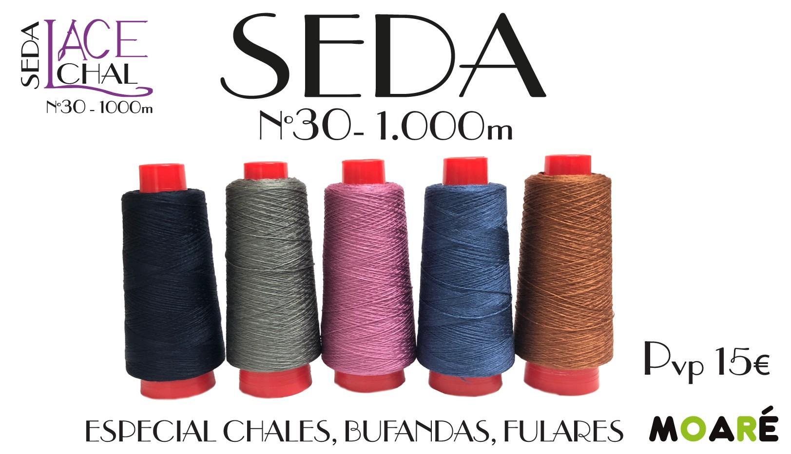 SEDA ESPECIAL CHALES FULARES