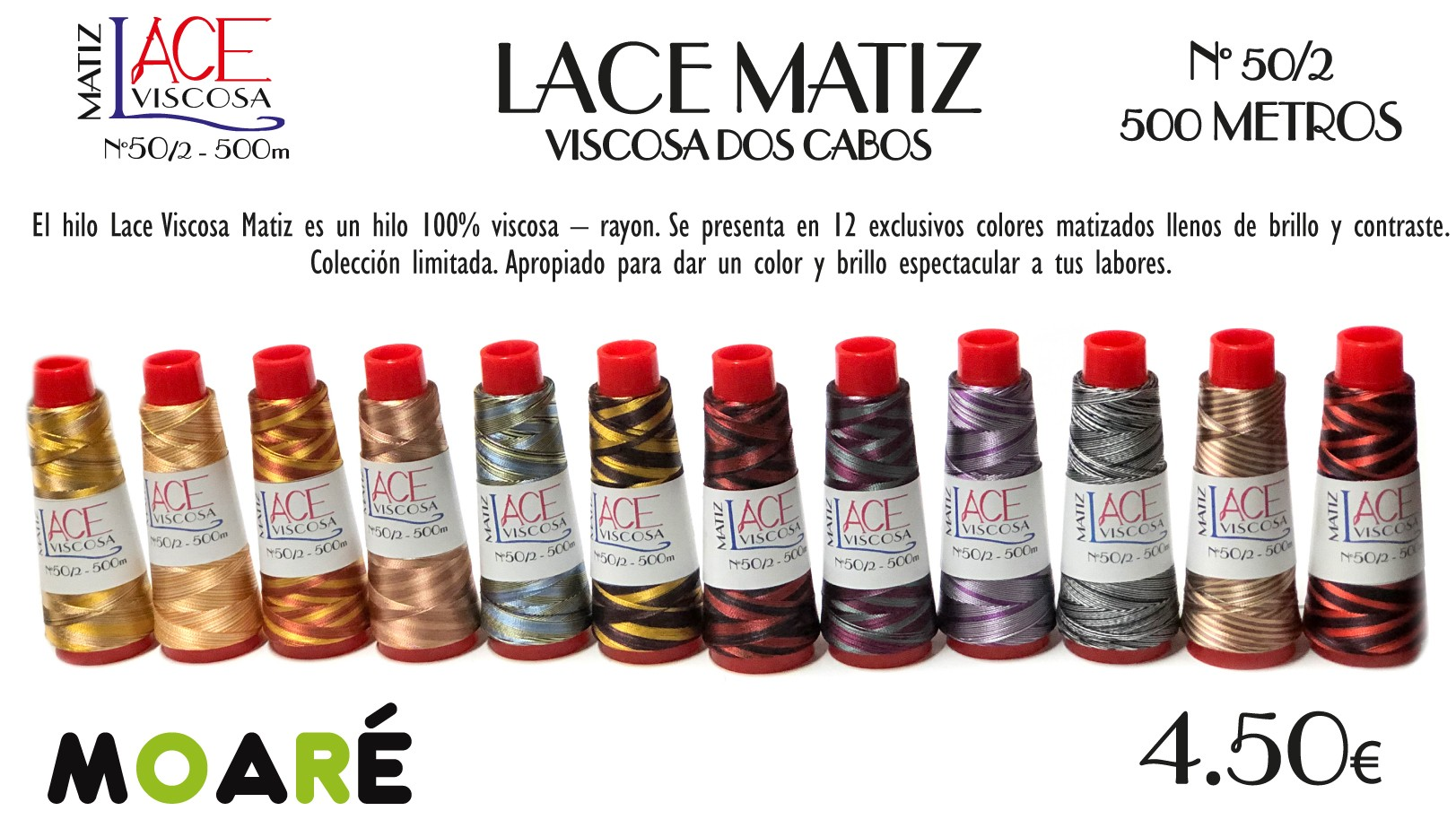 VISCOSA lace matiz